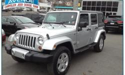 JEEP CERTIFICATION INCLUDED!! NO HIDDEN FEES!! CLEAN CARFAX!! NAV!! SAHARA!! Central Avenue Chrysler is honored to present a wonderful example of pure vehicle design... this 2011 Jeep Wrangler Unlimited Sahara only has 30,160 miles on it and could