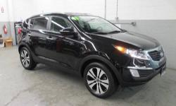 Great looking 2011 Sportage EX, 2.4L I4 DGI DOHC 16V, 6-Speed Automatic, AWD, Black Cherry, a very clean unit, BUY WITH CONFIDENCE, LOCALLY OWNED AND MAINTAINED, ***NOT AN AUCTION CAR**, CLEAN VEHICLE HISTORY....NO ACCIDENTS!, FRESH TRADE IN, NOT A