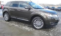 ***CLEAN VEHICLE HISTORY REPORT***, ***ONE OWNER***, ***PRICE REDUCED***, and NAVIGATION AND SUNROOF. AWD, Gray, and Leather. You win! Creampuff! This gorgeous 2011 Lincoln MKX is not going to disappoint. There you have it, short and sweet! New Car Test