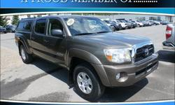 To learn more about the vehicle, please follow this link: http://used-auto-4-sale.com/108761554.html Looking for a used car at an affordable price? Treat yourself to a test drive in the 2011 Toyota Tacoma! Go anywhere versatility with roomy practicality!