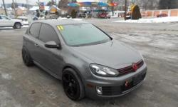***CLEAN VEHICLE HISTORY REPORT***, ***PRICE REDUCED***, and HEATED SEATS, SUNROOF AND AFTER MARKET EXHAUST. 2D Hatchback, 2.0L I4 TSI DOHC 16V Turbocharged, and Gray. This handsome-looking 2011 Volkswagen GTI carries a whole mess of cargo in its hatch