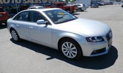 To learn more about the vehicle, please follow this link: http://used-auto-4-sale.com/108681225.html Load your family into the 2012 Audi A4! Clean, sporty and safe, this vehicle appeals to a broad swath of car buyers! Turbocharger technology provides