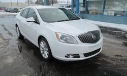 The 2012 Buick Verano is a well-rounded entry-level luxury sedan offering a quiet and luxurious cabin, comfortable ride, and ample feature content. * Engine: 2.4 L Inline 4-cylinder - Drivetrain: Front Wheel Drive - Transmission: 6-speed Automatic - Horse