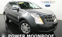 ***CLEAN CAR FAX***, ***HEATED COOLED LEATHER SEATS***, ***MOONROOF***, ***PRICED TO SELL***, ***WE FINANCE***, and ***WE TRADE***. Flex Fuel! Don't waste your chance at owning this fantastic 2012 Cadillac SRX. Go ahead and spoil yourself with this SUV.