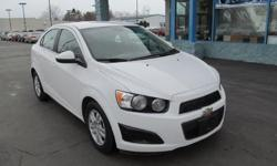 The 2012 Chevrolet Sonic is fun to drive and offers a powerful and efficient engine, comfortable and spacious cabin, and excellent crash test scores. * Engine: 1.8 L Inline 4-cylinder - Drivetrain: Front Wheel Drive - Transmission: 6-speed Automatic -