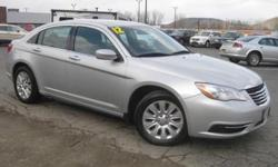 ***PRICE REDUCED***. 200 LX, 4 cyl 2.4L SMPI DOHC, Gy, and Black Cloth. Advanced construction nets a quality vehicle. Paves the way painlessly. Creampuff! This stunning 2012 Chrysler 200 is not going to disappoint. There you have it, short and sweet! This