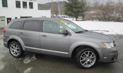 ***CLEAN VEHICLE HISTORY REPORT***, ***PRICE REDUCED***, ***NEW TIRES***, and NAVIGATION, DVD ENTERTAINMENT SYSTEM. Journey R/T, AWD, Gray, and Black Leather. Set down the mouse because this 2012 Dodge Journey is the SUV you've been hunting for. This