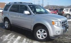 ***CLEAN VEHICLE HISTORY REPORT***, ***ONE OWNER***, and ***PRICE REDUCED***. Escape Limited, Duratec 3.0L V6 Flex Fuel, AWD, and Gray. You Win! Put down the mouse because this 2012 Ford Escape is the SUV you've been searching for. An Intellichoice Best