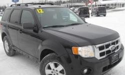 ***CLEAN VEHICLE HISTORY REPORT***, ***ONE OWNER***, and ***PRICE REDUCED***. Escape XLT, AWD, and Black. Talk about MPG! Take your hand off the mouse because this 2012 Ford Escape is the SUV you've been hunting for. It's fuel efficient, so you won't feel