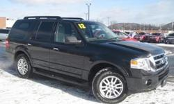 ***CLEAN VEHICLE HISTORY REPORT*** and ***PRICE REDUCED***. Expedition XLT, 4WD, and Black. Yes! Yes! Yes! Flex Fuel! Stop clicking the mouse because this 2012 Ford Expedition is the SUV you've been hunting for. This wonderful Ford is one of the most