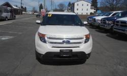 ***CLEAN VEHICLE HISTORY REPORT***, ***ONE OWNER***, ***PRICE REDUCED***, and NAVIGATION, SUNROOF,. Explorer Limited, 3.5L V6 Ti-VCT, AWD, White, and Leather. Take your hand off the mouse because this 2012 Ford Explorer is the SUV you've been looking to