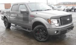 ***CLEAN VEHICLE HISTORY REPORT***, ***ONE OWNER***, ***PRICE REDUCED***, REAR DVD ENTERTAINMENT SYSTEM, TONEAU COVER, and HEATED AND COOLED LEATHER NAVIGATION AND BACK UP CAMERA. F-150 FX4, 4D SuperCrew, EcoBoost 3.5L V6 GTDi DOHC 24V Twin Turbocharged,