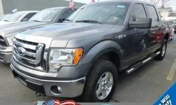 2012 F-150 4X4 SUPERCREW145 WHEELBASE5.0L V8 FFV ENGINEELECTRONIC 6-SPD AUTO17 MACH ALUM W/PAINT ACCENTSREAR DEFROSTER/DEFOGGERAND MORE...This Ford Certified Pre-owned has passed our Ford certified technicians 172 point inspection and provides you a Ford