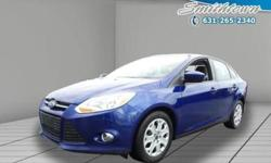 Innovative safety features and stylish design make this 2012 Ford Focus a great choice for you. This Ford Focus offers you 39017 miles and will be sure to give you many more. You'll appreciate the high efficiency at a low price as well as the: power
