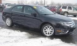 ***CLEAN VEHICLE HISTORY REPORT***, ***ONE OWNER***, and ***PRICE REDUCED***. Fusion SEL, 2.5L I4, 6-Speed Automatic, and Black. Yeah baby! Set down the mouse because this 2012 Ford Fusion is the car you've been trying to find. Well-constructed. Nominated