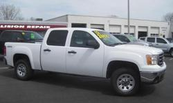 To learn more about the vehicle, please follow this link: http://used-auto-4-sale.com/108762418.html ***CLEAN VEHICLE HISTORY REPORT***, ***ONE OWNER***, and ***PRICE REDUCED***. Sierra 1500 SLE, 4D Crew Cab, Vortec 5.3L V8 SFI VVT Flex Fuel, 6-Speed