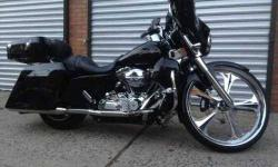 2012 Fat Boy low 1200 miles vance hines exhaust Mint Black Denim call Dom 516-350-2804