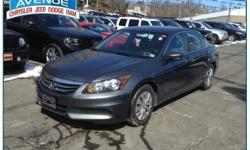 NO HIDDEN FEES!! CLEAN CARFAX!! ONE OWNER!! SPORTY!! You can find this 2012 Honda Accord Sdn LX and many others like it at Central Avenue Chrysler. Drive off the lot with complete peace of mind, knowing that this Accord Sdn LX is covered by the CARFAX