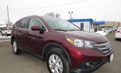 Come see this 2012 Honda CR-V EX-L. It has an Automatic transmission and a Gas I4 2.4L/144 engine. This CR-V comes equipped with these options: Pwr windows w/driver auto-up/down, Pwr door & tailgate locks, Instrument panel w/blue & white backlit gauges,