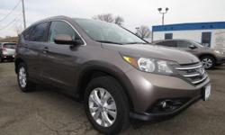 Come see this 2012 Honda CR-V EX-L. It has an Automatic transmission and a Gas I4 2.4L/144 engine. This CR-V features the following options: Leather-wrapped steering wheel, Heat-rejecting green-tinted glass, Compact spare tire, Motion-adaptive electric