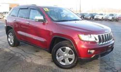 ***CLEAN VEHICLE HISTORY REPORT***, ***ONE OWNER***, ***PRICE REDUCED***, NAVIGATION AND SUNROOF, ADAPTIVE CRUISE, TECHNOLOGY PACKAGE, and RARE UNIT WITH EXTRA SAFETY OPTIONS. Grand Cherokee Limited, 5.7L V8 Multi Displacement VVT, 4WD, Red, and Leather.
