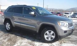 ***CLEAN VEHICLE HISTORY REPORT***, ***ONE OWNER***, and ***PRICE REDUCED***. Grand Cherokee Laredo, 4WD, and Gray. Yes! Yes! Yes! Look! Look! Look! Put down the mouse because this 2012 Jeep Grand Cherokee is the SUV you've been looking for. Roomy cabin.