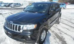 ***CLEAN VEHICLE HISTORY REPORT***, ***ONE OWNER***, and ***PRICE REDUCED***. Grand Cherokee Laredo, 4WD, and Black. Wow! Where do I start?! Take your hand off the mouse because this 2012 Jeep Grand Cherokee is the SUV you've been looking to get your