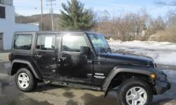 ***CLEAN VEHICLE HISTORY REPORT***, ***ONE OWNER***, ***PRICE REDUCED***, and RIGHT HAND DRIVE, HARD TOP, GREAT FOR MAIL CARRIER. Wrangler Unlimited Sport, 4WD, and Blue. Stop clicking the mouse because this 2012 Jeep Wrangler is the SUV you've been