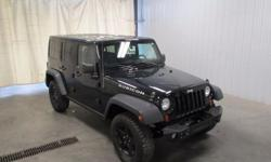 To learn more about the vehicle, please follow this link: http://used-auto-4-sale.com/108481501.html 2 SETS OF KEYS, TINTED WINDOWS, CARPET MATS, and OVERSIZED OFF ROAD TIRES. Dual Top Group (Black 3-Piece Hard Top, Freedom Panel Storage Bag, Rear Window