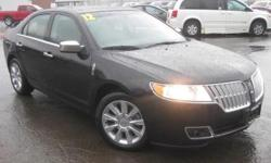 ***CLEAN VEHICLE HISTORY REPORT***, ***ONE OWNER***, ***PRICE REDUCED***, ***CERTIFIED PRE-OWNED LINCOLN***, and NAVIGATION, 20 CHROMES AND SUNROOF. Duratec 3.5L V6 DOHC 24V, AWD, Black, ABS brakes, Alloy wheels, AM/FM radio: SIRIUS, Compass, Electronic