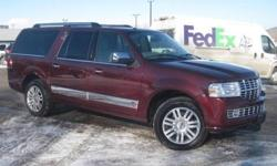***CLEAN VEHICLE HISTORY REPORT***, ***ONE OWNER***, ***PRICE REDUCED***, ***CERTIFIED PRE-OWNED LINCOLN***, and NAVIGATION, ROOF AND NAVIGATION. 4WD, Red, and Leather. Take your hand off the mouse because this 2012 Lincoln Navigator is the SUV you've