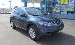 The 2012 Nissan Murano offers a high-quality cabin, spacious backseat, responsive powertrain, smooth ride, user friendly controls, and confident handling. * Engine: 3.5 L V 6-cylinder - Drivetrain: Front Wheel Drive - Transmission: CVT Automatic - Horse