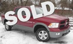 ***CLEAN VEHICLE HISTORY REPORT***, ***ONE OWNER***, ***PRICE REDUCED***, and OUTDOORSMAN, NAVIGATION. Ram 1500 SLT Crew Cab, 4D Crew Cab, HEMI 5.7L V8 Multi Displacement VVT, 4WD, and Red. Put down the mouse because this charming 2012 Dodge Ram 1500 is