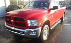 ***CLEAN VEHICLE HISTORY REPORT***, ***ONE OWNER***, and ***PRICE REDUCED***. Ram 2500 SLT, 4D Crew Cab, Cummins 6.7L I6 Turbodiesel, 6-Speed Automatic, 4WD, and Red. Here at Ferrario Auto Team, we try to make the purchase process as easy and hassle free