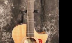 The US Made Taylor 2012 312ce-LTD Spring Limited Edition Koa Grand Auditorium Acoustic-Electric Guitar is available in limited numbers and is a member of the Hawaiian Koa 300 Series for 2012. Hawaiian Koa occupies rare air among tone-woods, and for good