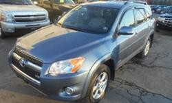 ***CLEAN VEHICLE HISTORY REPORT***, ***PRICE REDUCED***, and LEATHER, SUNROOF AND ALLOY WHEELS. 3.5L V6 DOHC Dual VVT-i 24V, 4WD, and Blue. Toyota has outdone itself with this attractive 2012 Toyota RAV4. It just doesn't get any better or more gas-saving.