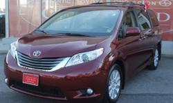2012 Toyota Sienna 5 door 7-Pass Van XLE All Wheel Drive with 13,271 miles**6 Cylinder**Automatic**Power Windows**LED Tail Lamps**Air Conditioning**Power Door locks**Cruise Control**Auto Check shows NO ACCIDENTS on this vehicle.**Auto Check also shows