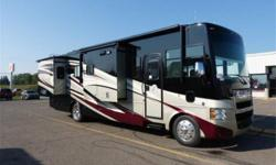 Class A motorhome in excellent condition. See the NADA Guide Price Report for list of options. Also has Panasonic Blu-ray Home Theater Sound System, 3 Panasonic LCD TV's, Tripp-Lite Inverter/Charger. Onan RV Generator Set. Convection Microwave.