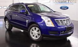 To learn more about the vehicle, please follow this link: http://used-auto-4-sale.com/108527414.html *MOONROOF*, *ALL WHEEL DRIVE*, *HEATED LEATHER*, *MEMORY SEATS*, *SRX 4*, *CLEAN CARFAX*, and *LOCAL ONE OWNER*. Look! Look! Look! Yes! Yes! Yes! Cadillac
