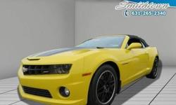 Cruise in complete comfort in this 2013 Chevrolet Camaro! This Chevrolet Camaro offers you 18370 miles and will be sure to give you many more. You won't be able to pass up on these extra features: We're overstocked and ready to make deals with all of our