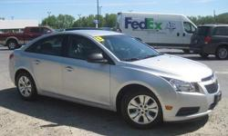 To learn more about the vehicle, please follow this link: http://used-auto-4-sale.com/108762311.html ***CLEAN VEHICLE HISTORY REPORT***, ***ONE OWNER***, and ***PRICE REDUCED***. Cruze LS, ECOTEC 1.8L I4 SMPI DOHC VVT, 6-Speed Automatic Electronic with