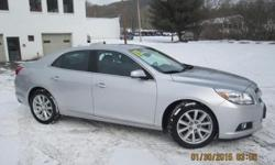 ***CLEAN VEHICLE HISTORY REPORT*** and ***PRICE REDUCED***. Malibu LT 2LT, 2.5L 4-Cylinder DGI DOHC VVT, Silver, and Gray Cloth. Oh yeah! You win! Set down the mouse because this handsome 2013 Chevrolet Malibu is the gas-saving car you've been thirsting