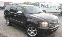 To learn more about the vehicle, please follow this link: http://used-auto-4-sale.com/108762349.html ***CLEAN VEHICLE HISTORY REPORT***, ***ONE OWNER***, and ***PRICE REDUCED***. Tahoe LTZ, Vortec 5.3L V8 SFI Flex Fuel Iron Block, 6-Speed Automatic