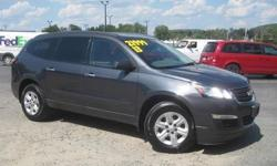 To learn more about the vehicle, please follow this link: http://used-auto-4-sale.com/108762325.html ***CLEAN VEHICLE HISTORY REPORT***, ***ONE OWNER***, and ***PRICE REDUCED***. Traverse LS, 3.6L V6 SIDI, 6-Speed Automatic, and AWD. Come take a look at