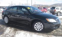 ***CLEAN VEHICLE HISTORY REPORT***, ***ONE OWNER***, and ***PRICE REDUCED***. 200 LX, Black, and Cloth. Yeah baby! You win! Set down the mouse because this 2013 Chrysler 200 is the car you've been trying to find. Some manufacturers cut corners to save