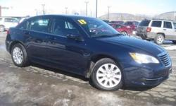 ***CLEAN VEHICLE HISTORY REPORT***, ***ONE OWNER***, and ***PRICE REDUCED***. 200 LX, Blue, and Cloth. Yes! Yes! Yes! Yeah baby! Creampuff! This gorgeous 2013 Chrysler 200 is not going to disappoint. There you have it, short and sweet! Chrysler has