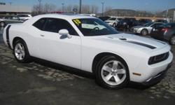 ***CLEAN VEHICLE HISTORY REPORT***, ***ONE OWNER***, ***PRICE REDUCED***, NAVIGATION, PREMIUM SOUND AND SUNROOF, LEATHER, and RT PLUS. Challenger R/T, 8 cyl 5.7L MPI OHV, Automatic, and White. Here at Ferrario Auto Team, we try to make the purchase