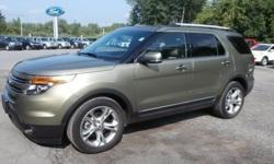 One test drive in this gently used 2013 Explorer and you'll know you've found your perfect match! Check out our awesome pictures one more time and imagine how good you're going to look and feel behind the wheel! This front wheel drive beauty is brought to