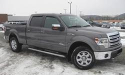***CLEAN VEHICLE HISTORY REPORT***, ***ONE OWNER***, ***PRICE REDUCED***, and NAVIGATION, BACKUP CAMERA, SUNROOF, STEP BARS. F-150 Lariat, 4D SuperCrew, EcoBoost 3.5L V6 DGI DOHC 24V Twin Turbocharged, 4WD, and Gray. Take your hand off the mouse because