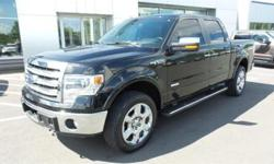 To learn more about the vehicle, please follow this link: http://used-auto-4-sale.com/108303651.html 2013 Ford F-150 Lariat, MP3 Compatible, USB/AUX Inputs, Clean CarFax, and One Owner Vehicle. Equipment Group 502A Luxury (Floor Shifter, Flow Through